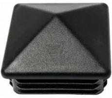 Заглушка для труб квадр. 80х80 мм пирамидка