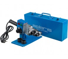 Сварочный аппарат для полимерных труб Solaris PW-602 (600 Вт, 3 насадки: 20, 25, 32 мм)