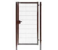 Калитка Medium New Lock 1,53х1 RAL 8017 ( коричневый )