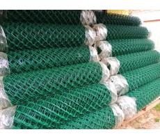 Сетка Рабица 1,2х10 м с ПВХ покрытием ( зеленая ) производство РБ