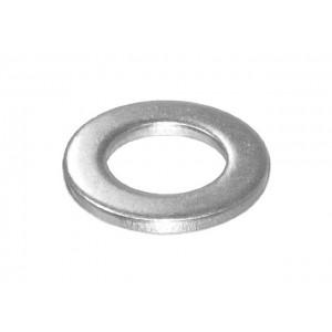 Шайба М10 плоская, цинк, DIN 125