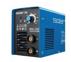 Инвертор сварочный SOLARIS MMA-200I (230В; 20-200 А; 70В; электроды диам. 1.6-4.0 мм; вес 3.4 кг)